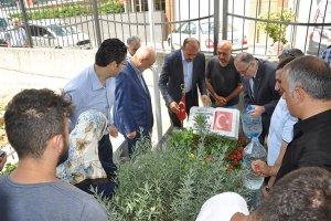 Beykoz idari erkanından şehitlik ziyaretleri