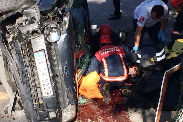Beykoz Akbaba yolunda trafik kazası... 1 kişi öldü