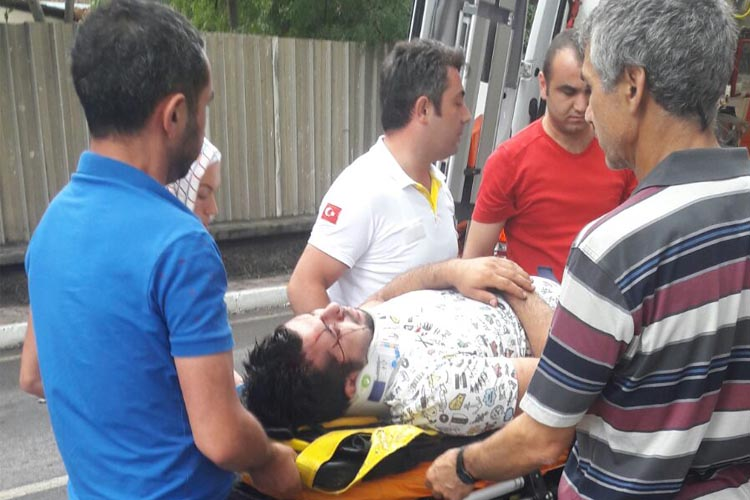 Beykoz Sultaniye yolunda trafik kazası… 1 yaralı
