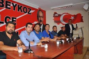 CHP Beykoz Yönetimi 'ADALET' gündemli toplandı