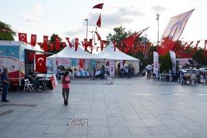 Beykoz'da kamu kurumları Milli Birlik nöbetinde