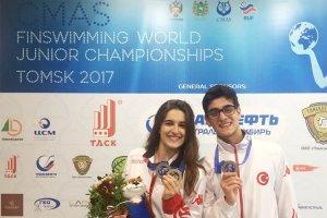 Dünyanın Paletli Yüzme Şampiyonu Beykoz'dan
