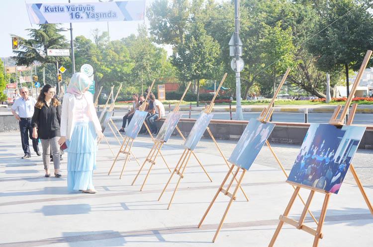 AK Parti Beykoz'dan 16. Yıl sergisi