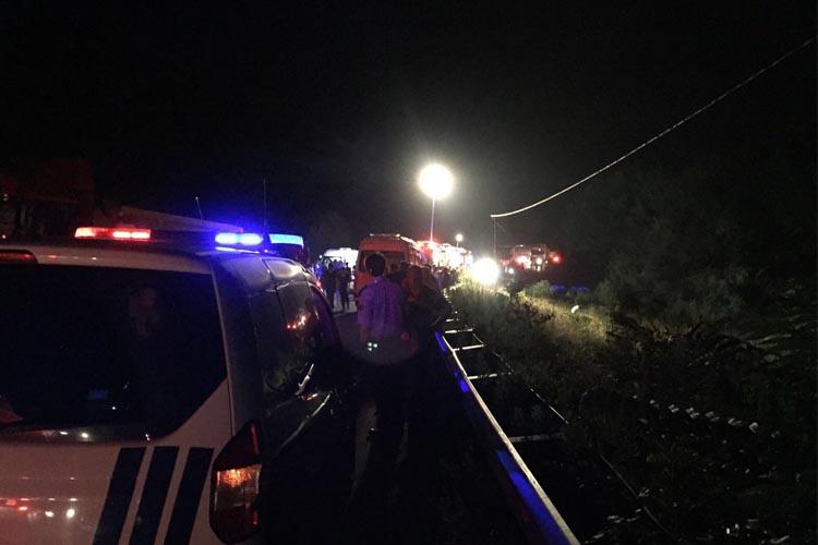 Beykoz Riva yolunda dehşet kaza… 2 ölü 1 yaralı