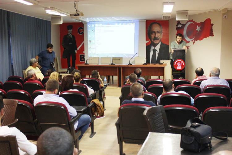 CHP Beykoz Gençliği, zafer bayramını kutladı