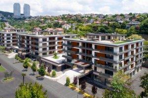 Beykoz'un yeni dairelerinde villa konforu