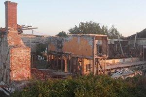 Beykoz'da tarihi bina ortadan kaldırılıyor