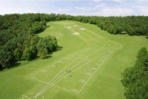 Beykoz Riva'da Mustafa V. Koç Golf Sahası yapılıyor