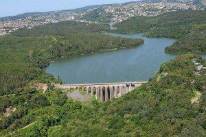 Beykoz'un barajındaki su tamamen tükendi