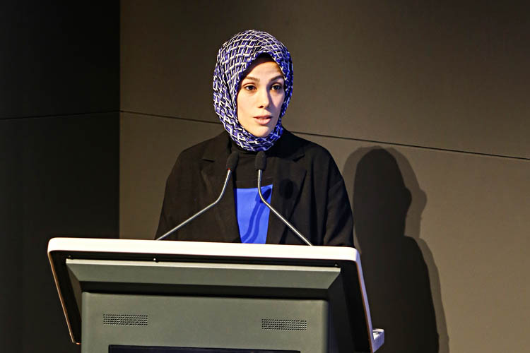Esra Albayrak, Beykoz'da konferans verdi