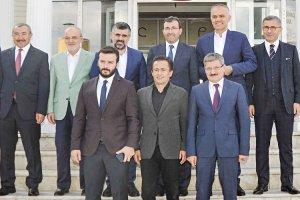 Çelikbilek, Belediye Başkanlarını Beykoz'da ağırladı
