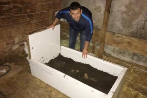 Beykoz'da solucandan gübre üretiliyor