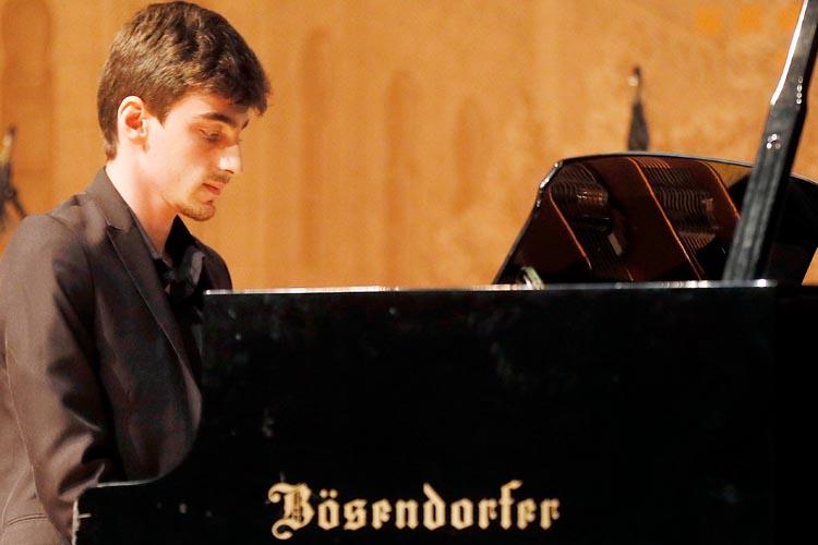 Beykoz'un Mozart'ı İstanbul'a konser verdi