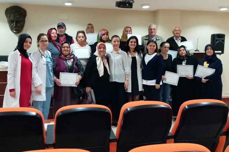 Beykoz Devlet Hastanesi'nde diyabet okulu açıldı