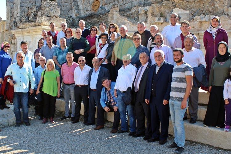 Beykoz muhtarları Akdeniz'den Ege'ye