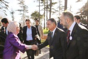 Emine Erdoğan, Puşide Projesi için Beykoz'a geldi
