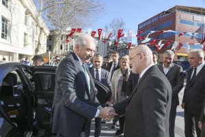 İBB Başkanı Uysal, Başkan Çelikbilek'i ziyaret etti