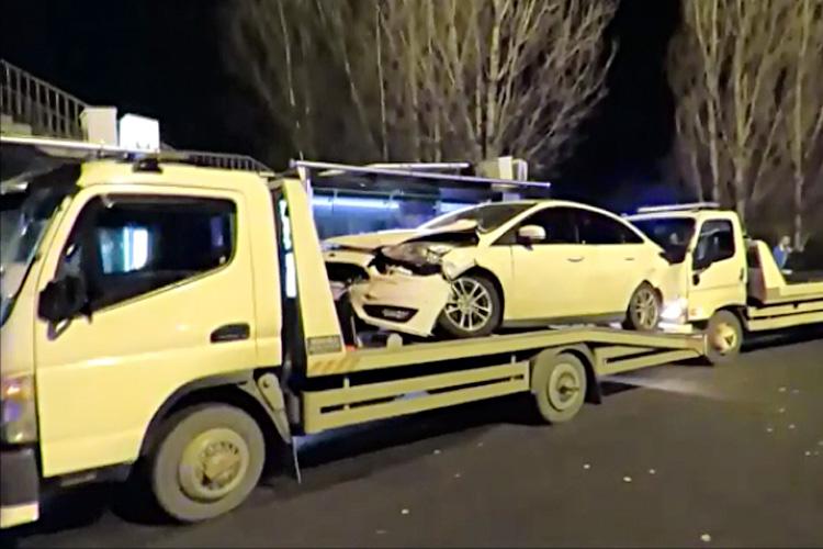 Beykoz Kavacık'ta zincirleme trafik kazası