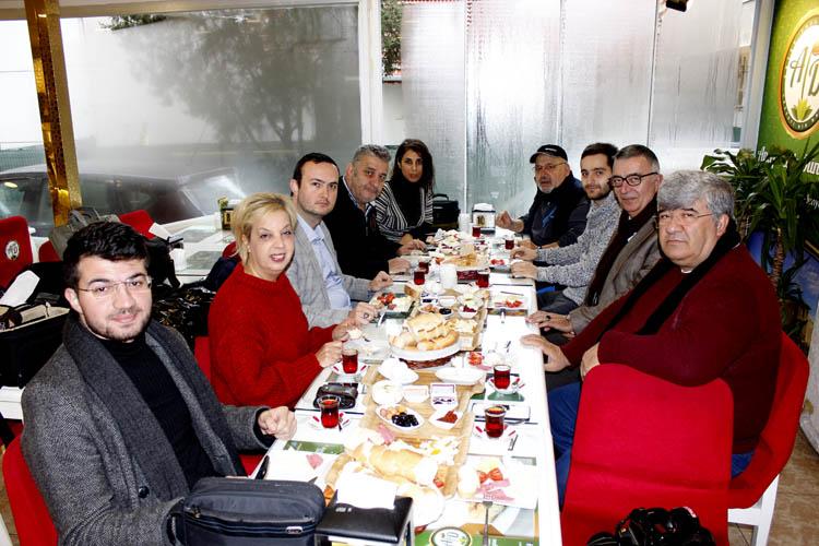 Antep Tatlı Dünyası, Gazeteciler gününü kutladı