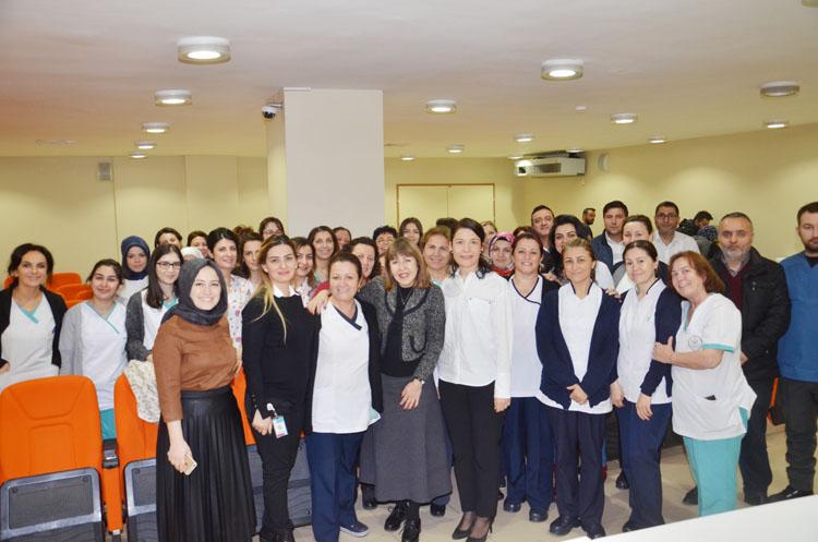 Ünlüler Beykoz'da sağlık çalışanları ile bütünleşiyor