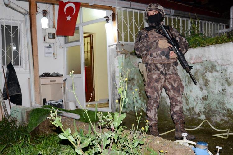 Beykoz'un mahallelerinde uyuşturucu operasyonu