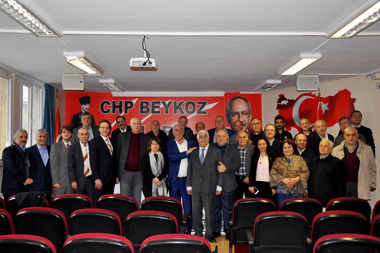 CHP İlçe Başkanı Düzgün'e ziyaretçi akını