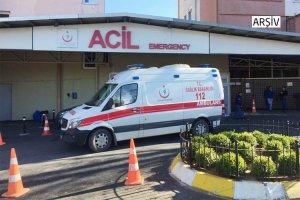 Beykoz'da araba uçuruma yuvarlandı