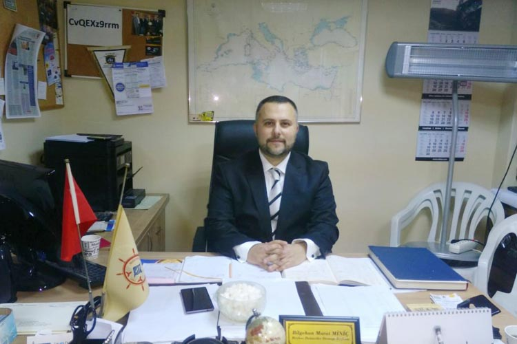 Beykoz Denizciler Derneği Murat Miniç ile 'devam' dedi
