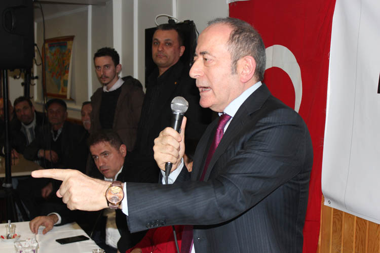 Hamzaçebi, Beykoz Tokatköy'de konuştu