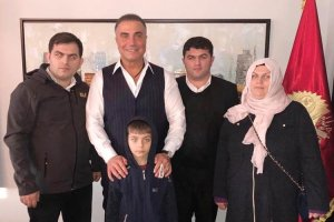 Sedat Peker, şehit ailesi ile Beykoz'da buluştu
