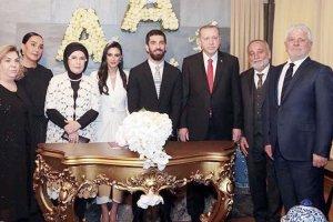 Cumhurbaşkanı Erdoğan Beykoz'da nikah şahidi oldu