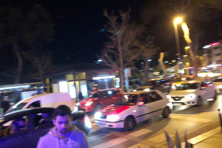 Beykoz Meydanı'nda asker uğurlama gerginliği