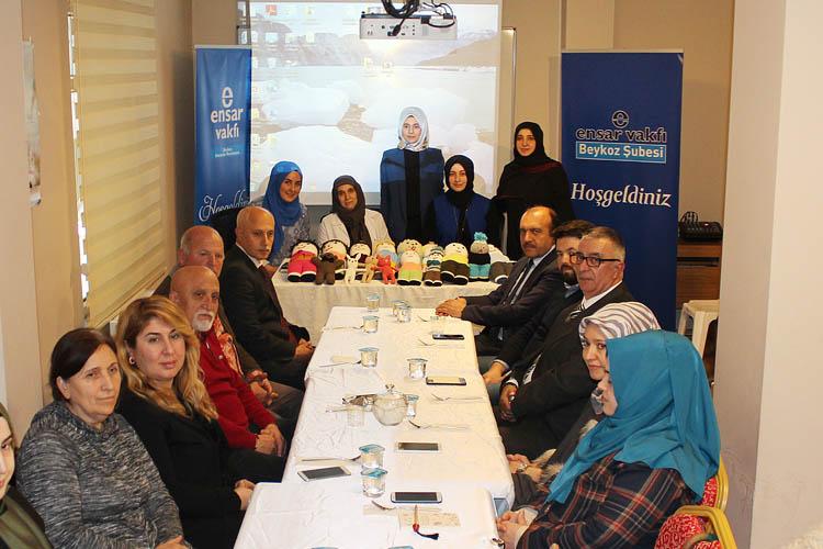 Gülümseten Emek projesi Beykoz'da tanıtıldı
