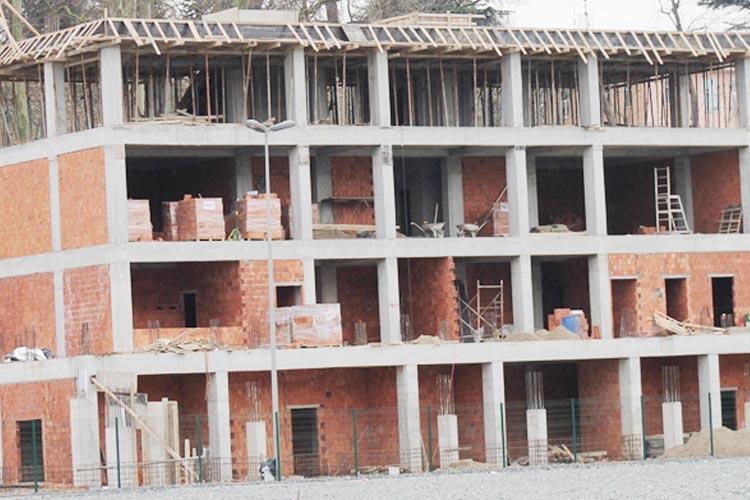 Yeni Beykoz Stadı'nda inşaat hızla ilerliyor