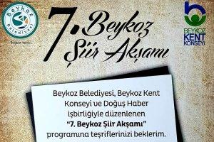 Beykoz'da şiir akşamı yine mest edecek