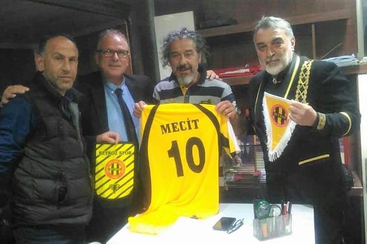 Zafer Baş'dan eski Beykoz futbolcusuna ziyaret