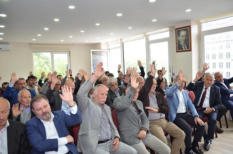 Beykoz Trabzonlular Derneği Kongresi yapıldı