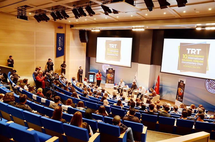 TRT, Beykoz'da belgesel paneli düzenledi