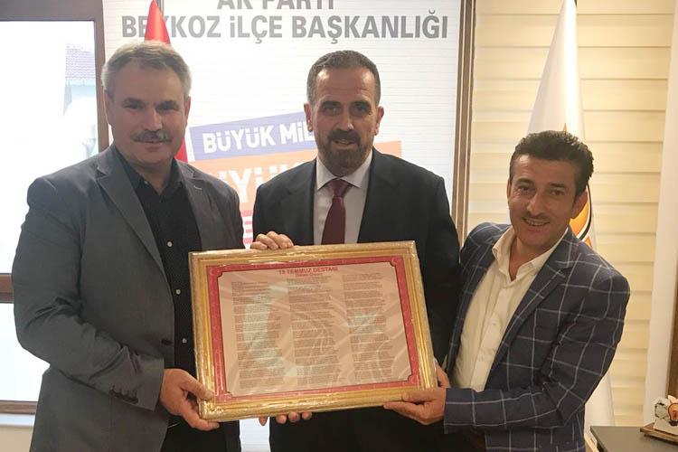 Milletvekili aday adayı Bostancı'dan Dilmaç'a ziyaret