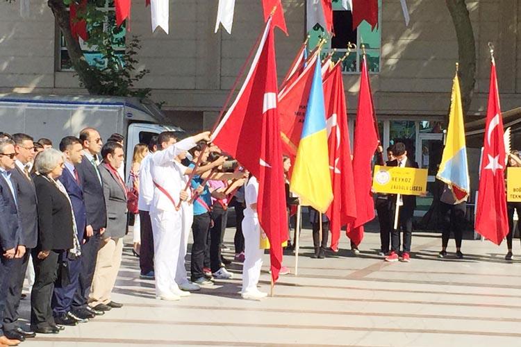 Beykoz'da 'Gençlik Haftası' kutlamaları başladı