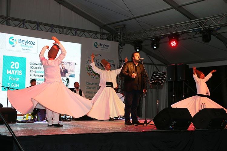 Tasavvuf müziğinin ustaları Beykoz'da mest etti