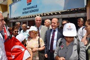 Akif Hamzaçebi Beykoz'da İnce'ye destek istedi