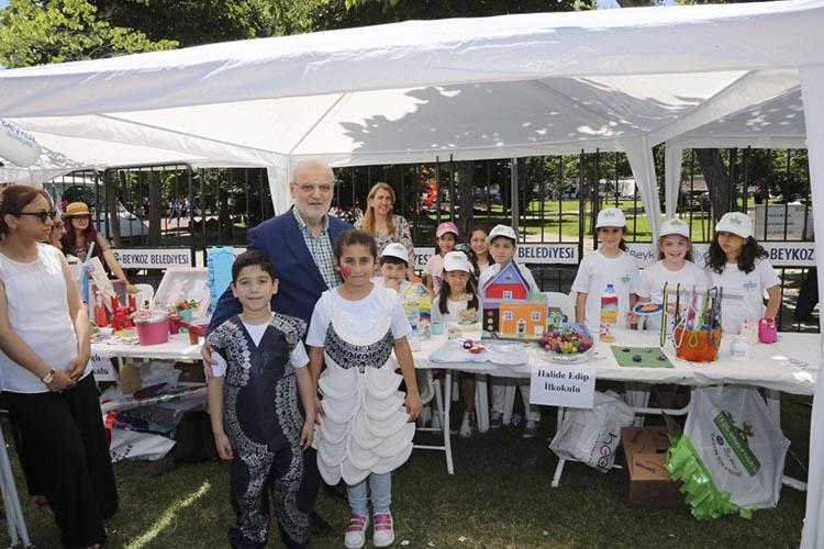 Beykoz'da çevreci yeşil okullara festival