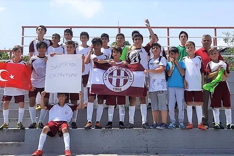 Beykoz'da sezonun son şampiyonu Ortaçeşme U13