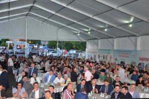 Beykoz Rizeliler Derneği'nin 1500 kişilik iftarı
