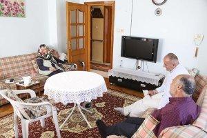 Beykoz'da şehit ailelerine Bayram ziyaretleri
