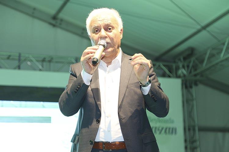 Nihat Hatipoğlu Beykoz'da gönüllere seslendi