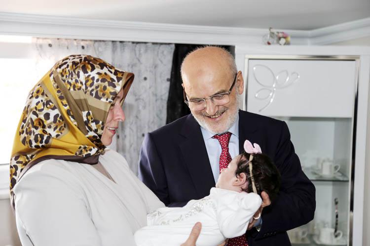 Beykoz'da 'hoş geldin bebek' ziyaretleri