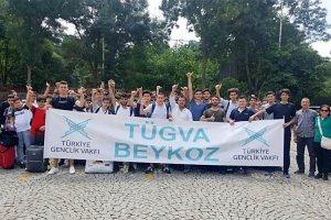 Beykozlu gençlerin yaz kampı Saros'da başladı