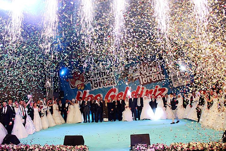 Beykoz'da toplu nikah kayıtları başladı